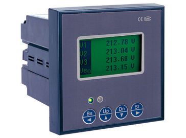 Cina 3 Phase Digital Kekuasaan Meter, Multifungsi Energy Meter LCD Display 0.5s Accuracy pabrik